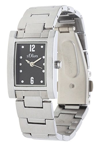 s.Oliver Damen-Armbanduhr Analog Quarz SO-15013-MQR