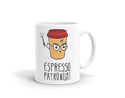 Harry Potter Espresso Patronum Coffee Mug, 325ml