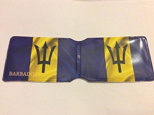 Barbados Flag Oyster card Holder