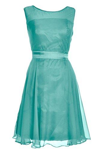 MACloth - Robe - Trapèze - Femme Turquoise - Turquoise