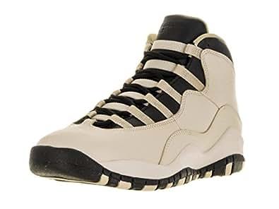 8bc67df4091146 Nike Girls   Air Jordan 10 Retro Prem GG Basketball Shoes Blanco (Pearl  White