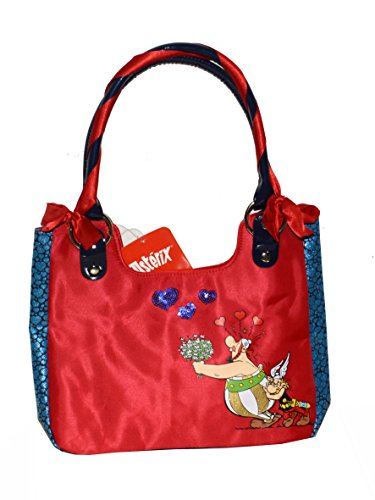 Asterix shopper barchetta Asterix e Obelix rossa