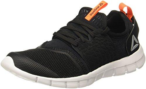 Reebok Men's Hurtle Runner Black/Wild Orange Running/Sports Shoes