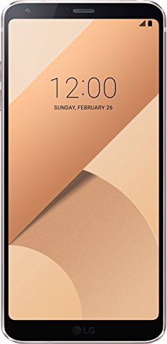 LG G6 - Smartphone  5 7   SIM   nica  4G  32 GB  13 MP  Android  7 0 Nougat  Rosa Oro