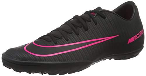 Nike Mercurialx Victory Vi Tf, Scarpe da Calcio Allenamento Uomo, Nero (Black/Black), 43 EU