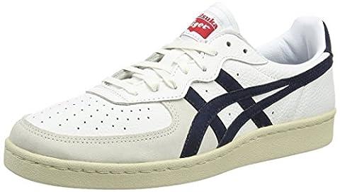 Asics Gsm, Unisex Erwachsene Sneakers , Weiß - White (White/Navy 0150) - Größe: 40.5 EU