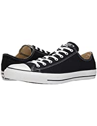 f099a799d6d Converse Unisex Chuck Taylor All Star Ox Low Top Classic Black Sneakers -  11.5 D(