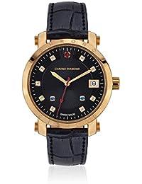 Chrono Diamond Reloj con movimiento cuarzo suizo Woman 10610J Nesta Negro
