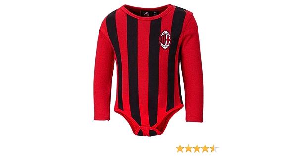 Body AC Milan Maniche Lunghe 12 18 24 Mesi Ufficiale