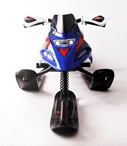 winter snow racer volant moto rush luge sur la neige herbe sable ski pente avec frein pour. Black Bedroom Furniture Sets. Home Design Ideas