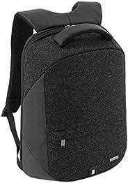 Santhome Anti Theft Laptop Backpack Unisex Multifunctional I External USB Port I Hard exterior to retain shape