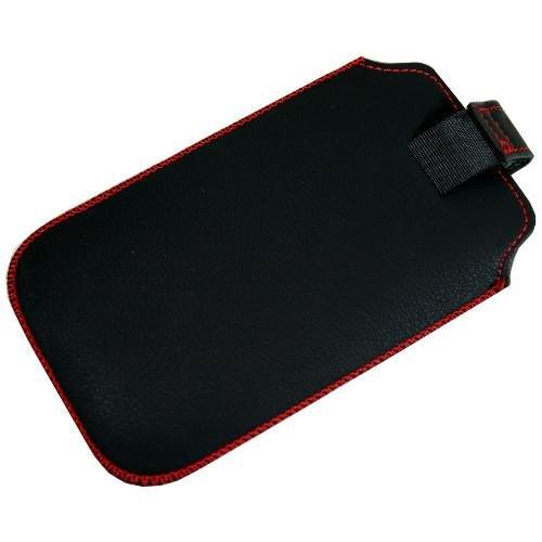 Tasche für Handy Smartphone Siswoo C50 Longbow, Etui Hülle Slim Case Cover mit Auszugband