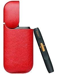 iqos Hülle Leder PU e-sigaretta Handy Elektronische Kratzfest Schutzhülle Abdeckung Cover für iqos mit Ladekabel
