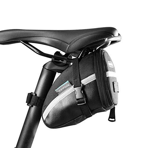 OVEA Fahrrad Sattel Tasche Sitz Post Lagerung Schwanz Pouch Radfahren Rennrad Hinten Pannier Fahrrad Bolsa Bisiklet Aksesuar (Sitz Post Tasche)