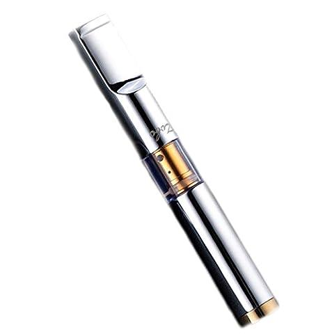 CaLeQi Silber Saubere Art Multi-Filterung Zigaretten-Rauch-Filter Reinigen Wiederverwendbare Tabak Zigaretten-Tar-Asche Filterhalter für Männer zu 0,8 mm und Frau 0,6 mm Base (Geschenke Für Den Mann Online-shopping)