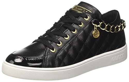 Guess Glinna, Zapatillas Mujer, Negro Nero, 36 EU
