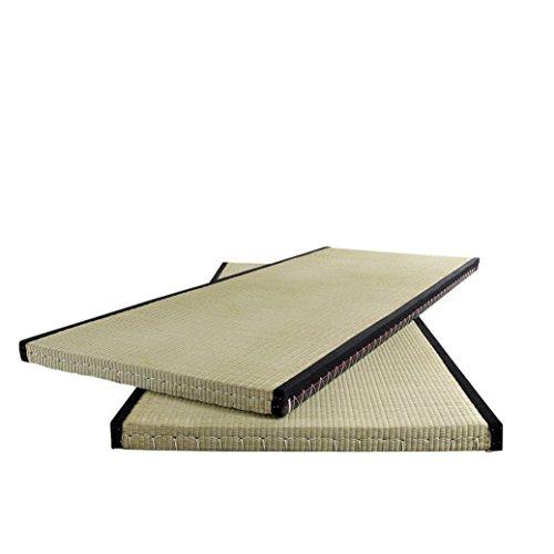 Japanische Design-tatami-matte (Karup Design 80 | Traditionelle Japanische Tatami Matte Für Futon-Matratze | Reisstroh Bodenmatte 80 x 200 cm, Füllung: Reisstrohkern beige, 5.5 x 80 x 200)