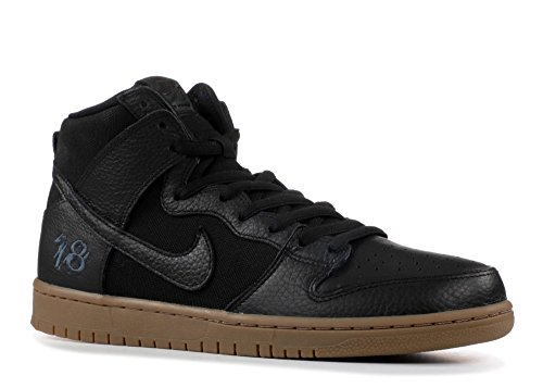 wholesale dealer daf54 1ba4c Nike SB Zoom Dunk High Pro QS, Zapatillas de Deporte para Hombre, (Black