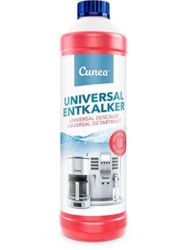 Cunea 750ml Entkalker für Kaffemaschinen Wasserkocher Kaffeepadmaschine universell einsetzbar