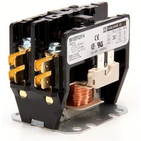 Square D 910DP32V14 Contactor, 2P, 30-Amp, 24 Volt by Square D