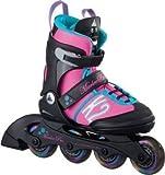 K2 Kinder Inline Skate Marlee Pro, rosa/blau/schwarz, L, 30A0219.1.1.L