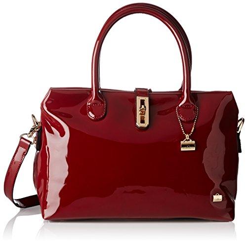 La Bagagerie Shop xbd, Sac porté main - Rouge (bordeaux), Taille Uniqu