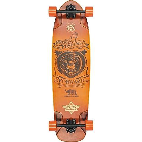 Dusters Kodiac 9.75x36 Sunburst Complete Longboard Skateboard by Dusters - Maple Sunburst