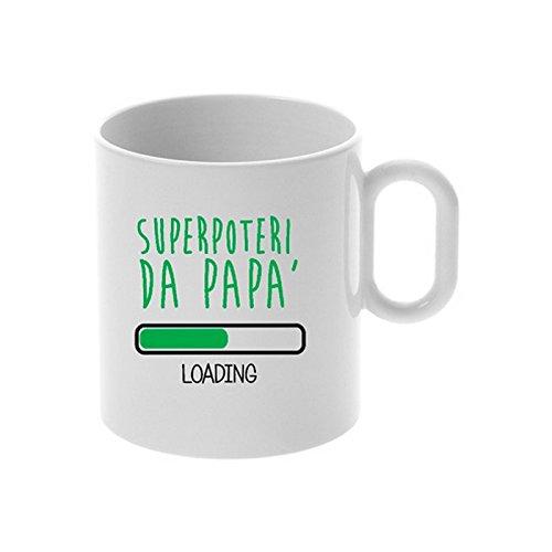 My custom style® tazza in ceramica personalizzata da 325ml festa del papà modello