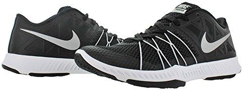 Nike Herren 844803-300 Turnschuhe Black/Metallic Silver-Black