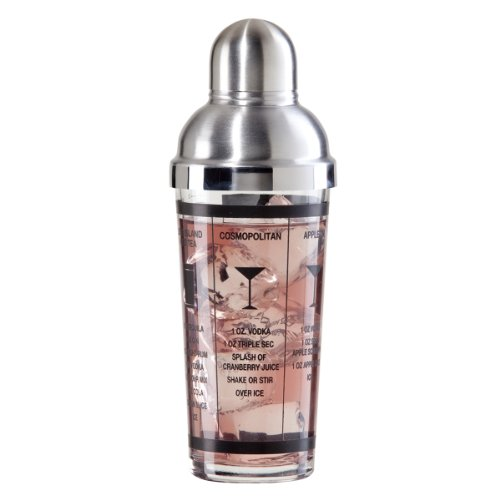 Oggi 7314 15-Ounce Glass and Stainless Steel Cocktail Shaker by Oggi Oggi Shaker