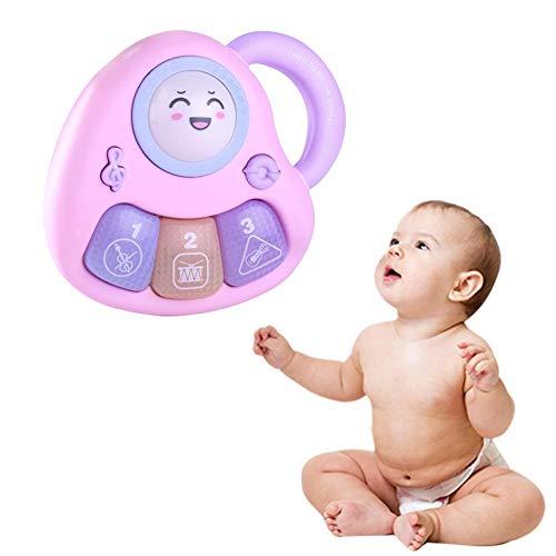 (TODAYTOP Beste Urlaubs-/Geburtstags-Geschenkidee für Ihre Mini-Musiker Puzzle Säuglinge Baby Early Education, Akustische Handheld-Elektro-Musikinstrument Spielzeug, violett)