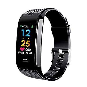 Rosennie Smart Watch,Running Calorie Counter Digital LED Sporting Fitness Activity Heart Rate Tracker Blood Pressure Wrist Watch Tracker Consumer Electronics Calorie Counter Waterproof Smartwatch