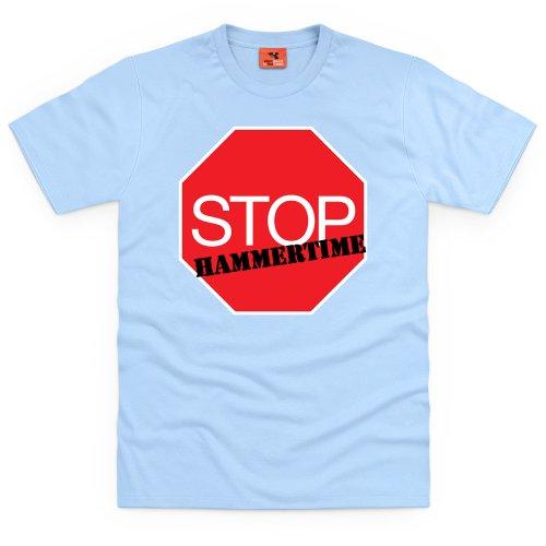 Stop! Hammertime T-Shirt, Herren Himmelblau