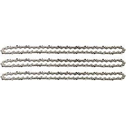 """3 tallox Chaînes de tronçonneuses 3/8"""" 1,3 mm 55 maillons longueur de guide-chaîne 40 cm compatible avec Stihl"""