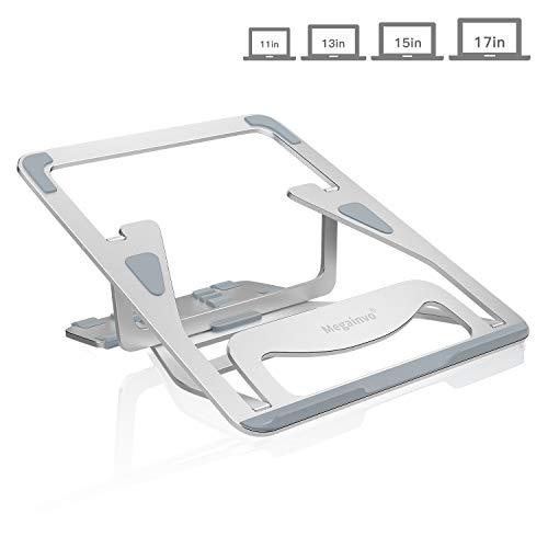 Laptop Ständer Notebook Ständer Multi-Winkel Verstellbar Faltbarer Ergonomisch Laptop Stand für 11-17 Zoll Notebook MacBook Dj Mischpult PC iPad Aluminiumlegierung LaptopStänder Tablet Laptop Kühler