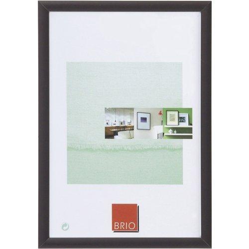 Brio 29784 Cadre Photo Tekno Aluminium Noir 30 x 45 cm