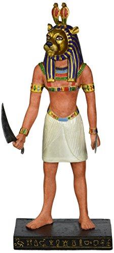 Progettazione Toscano WU69889 antico dio egizio Sekhmet Statua