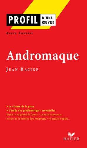 Dissertation littraire andromaque