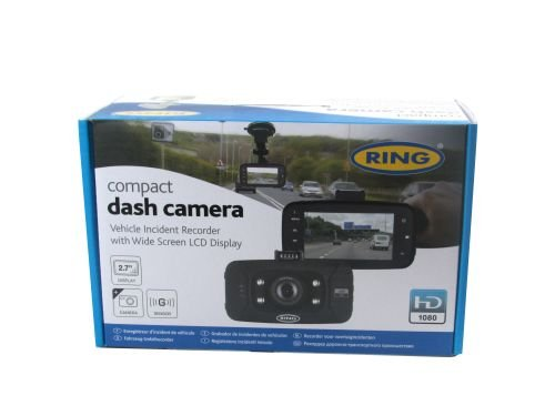1080p Commercial Display (In Auto-Dashcam GPS Compact 6,9cm Display HD 1080p Dash Cam Recorder Ring rbgdc50)