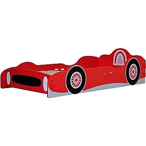 Kidsaw Racing Car Single Bed - 1 box