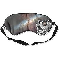 Eye Mask Eyeshade Dog in Space Sleeping Mask Blindfold Eyepatch Adjustable Head Strap preisvergleich bei billige-tabletten.eu