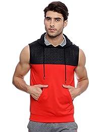 Proline Mens Red Cut & Sew Sweat Shirt (PA13526RD)