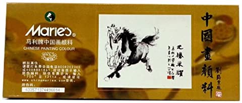 Chinois Couleur peinture de Marie Grand (Tube 12ML) 18 Couleur