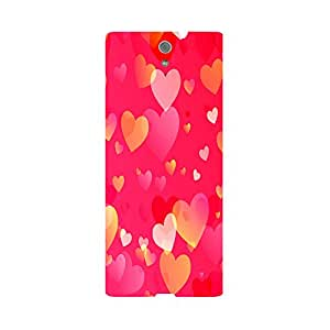 Phone Candy Designer Back Cover with direct 3D sublimation printing for Sony Xperia C5