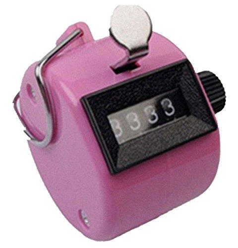 DAYAN Manuell Hand-zähler Handfläche Hand Mechanisch Tally Zähler color pink