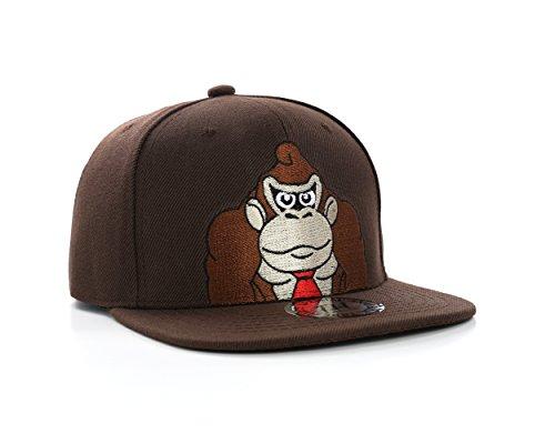 Super Mario Bros Donkey Kong Snapback Baseball ()