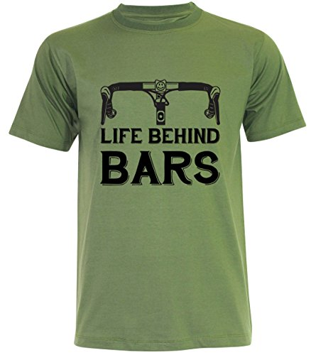 PALLAS Unisex's Bicycle Cycling Life Behind Bars Jungle Green