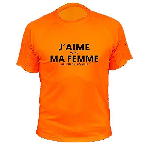 AtooDog Tee Shirt Chasse on Naît Tous égaux, Seuls Les Deviennent ... 36e67c5a9ecc