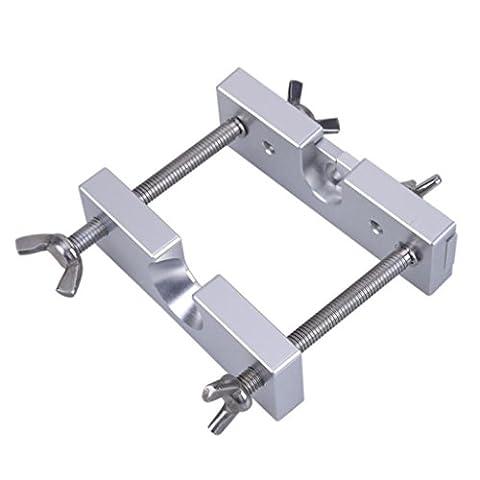 Igemy Embouchure Extracteur Remover Outil Laiton réglable pour trompette Embout Silver
