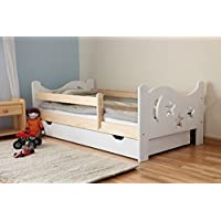 Arbox 5902425378755 Kinderbett, Holz, weiß, 140 x 70 x 60 cm preisvergleich bei kinderzimmerdekopreise.eu